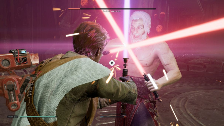 Star Wars Jedi: Fallen Order bosses - Taron Malicos