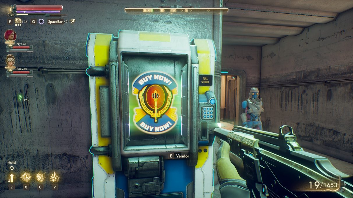 The Outer Worlds vending machine