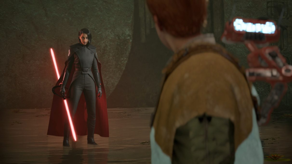 Star Wars Jedi: Fallen Order Trilla boss fight