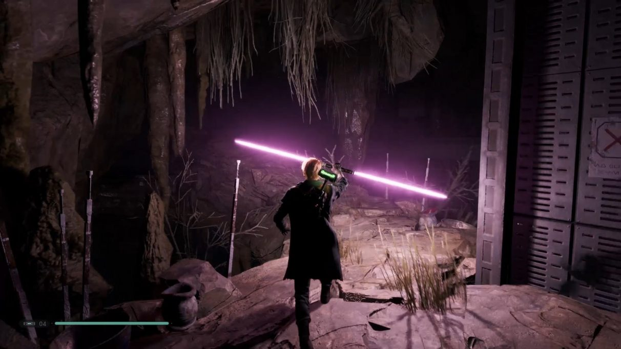 Star Wars Jedi: Fallen Order Grandmaster tips - double bladed lightsaber