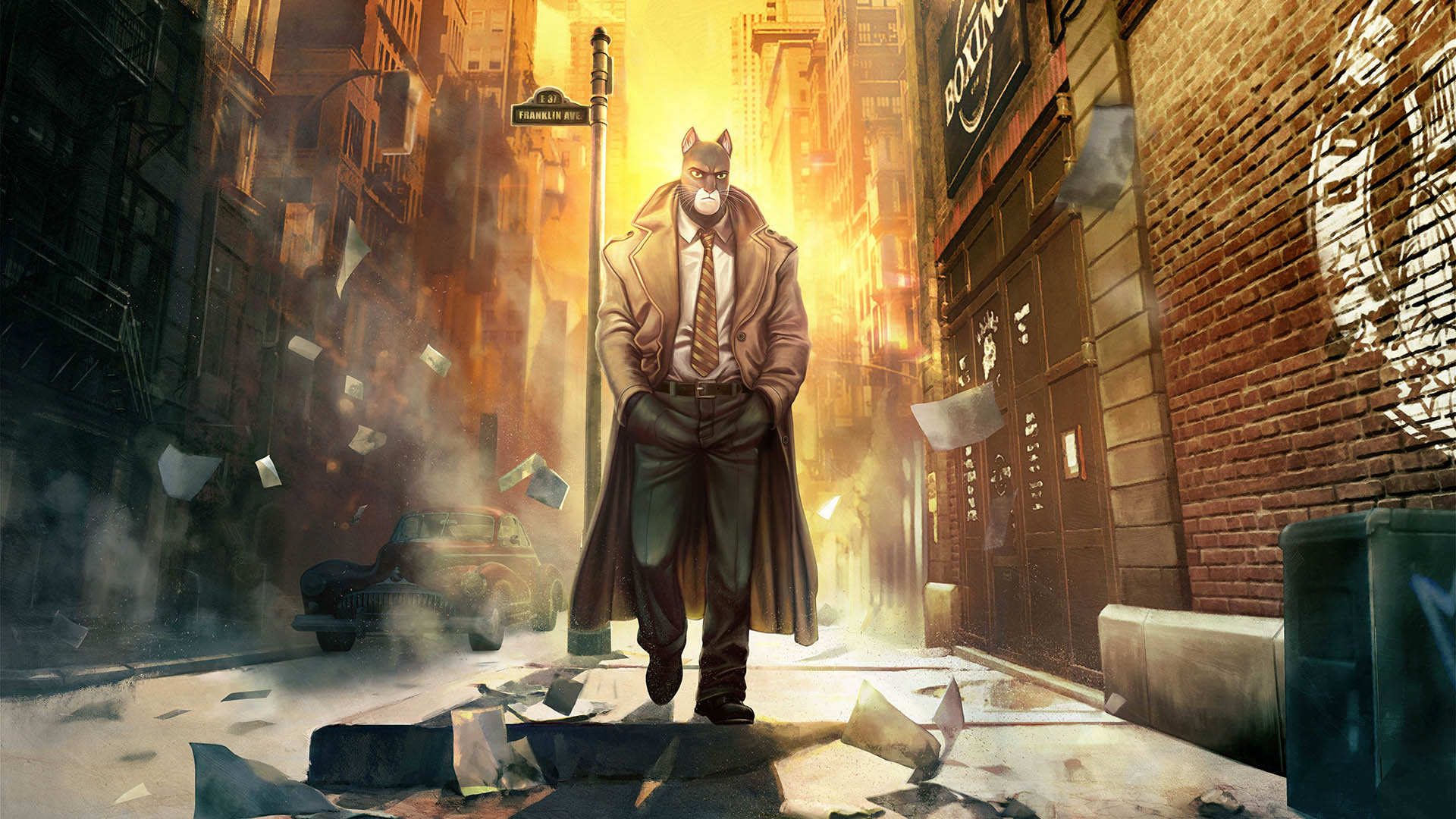 Wot I think: Blacksad: Under the Skin