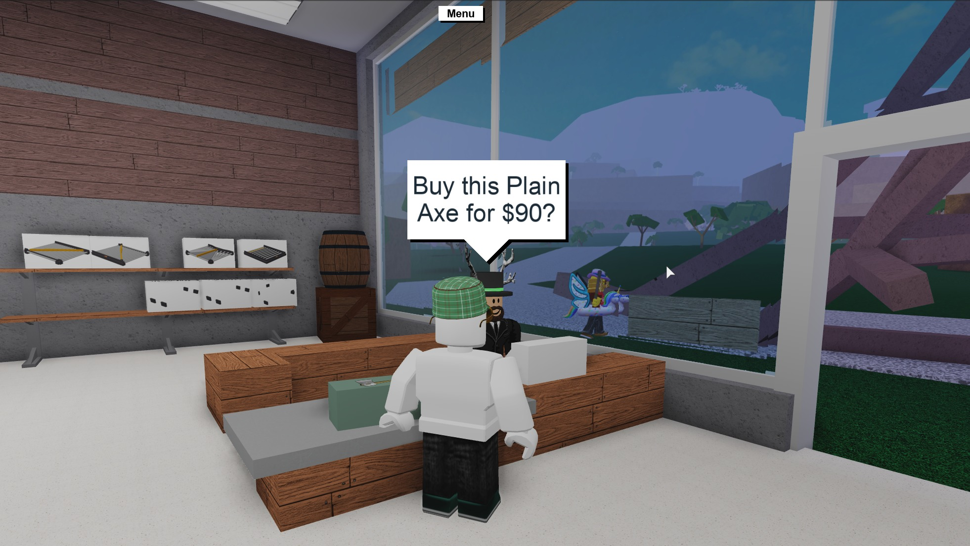 Roblox Studio Lumber Tycoon 2 Portraits Of Roblox The View From The Platform Rock Paper Shotgun