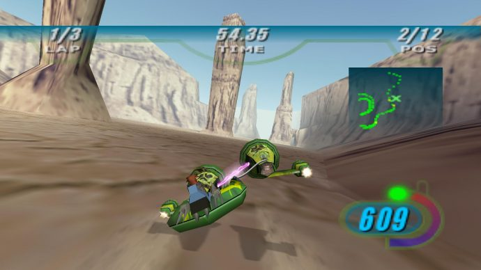 Star Wars Episode 1: Racer is one of the best Star Wars games - better than the film that inspired it, really.