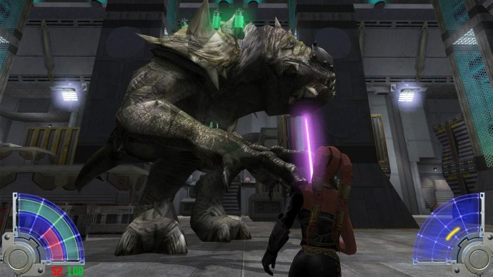 Jedi Academy is one of the best Star Wars games. Better than the more talked about Jedi Knight 2.