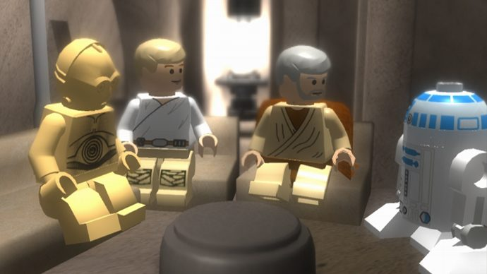 Lego Star Wars is one of the best Star Wars games. In fact, it's like 6 of the best.