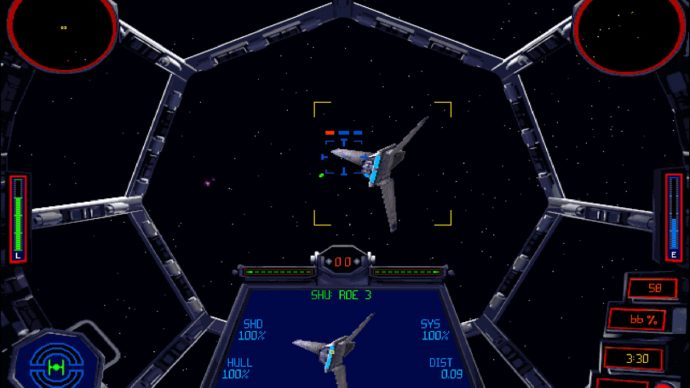 Star Wars TIE Fighter is one of the best Star Wars games, though it has aged.