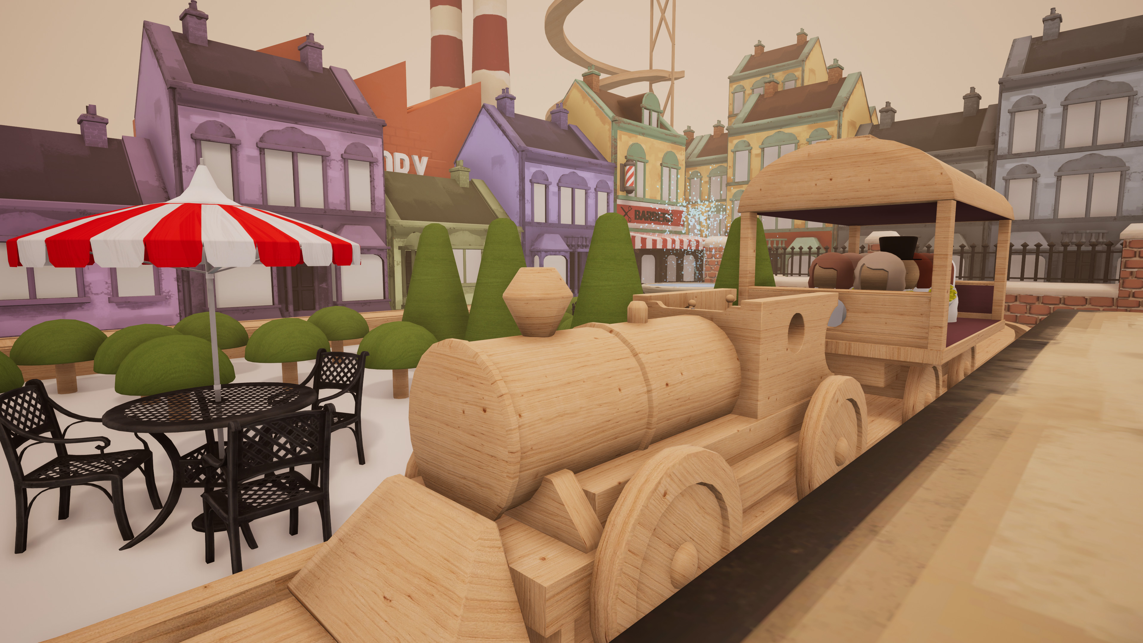 Toy train builder Tracks comes chugging out of early access today