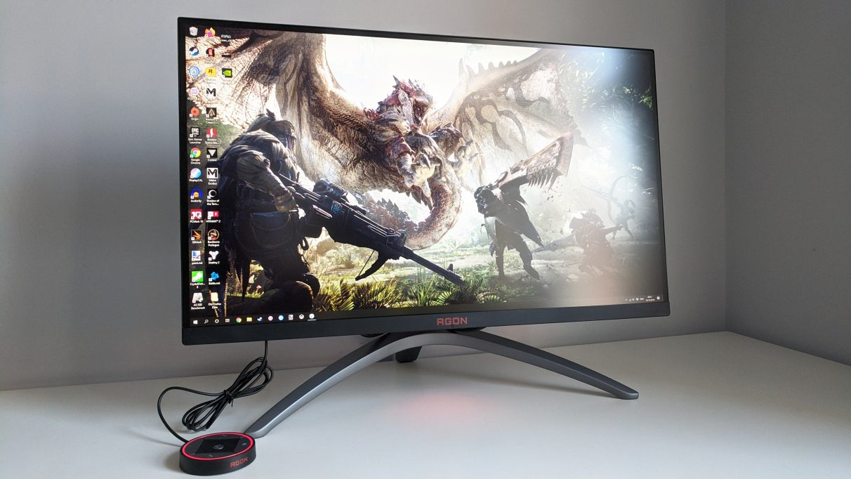 AOC Agon AG273QX - Best gaming monitor 2020