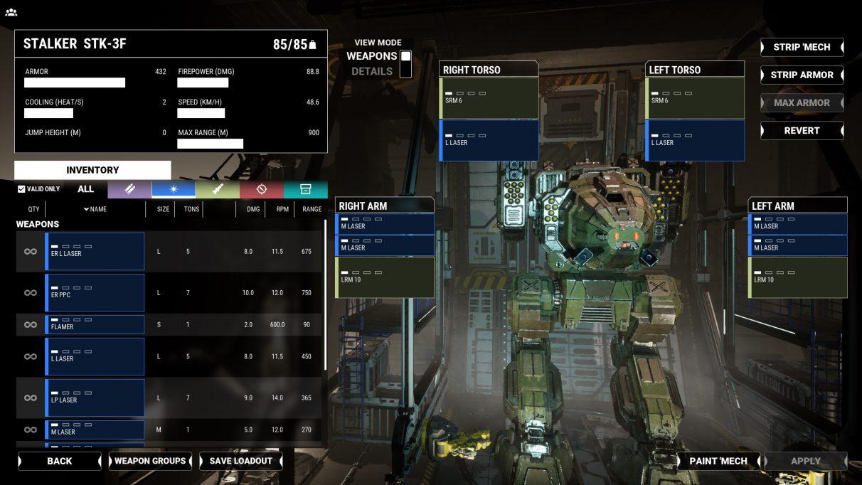 MechWarrior 5 Assault Mechs