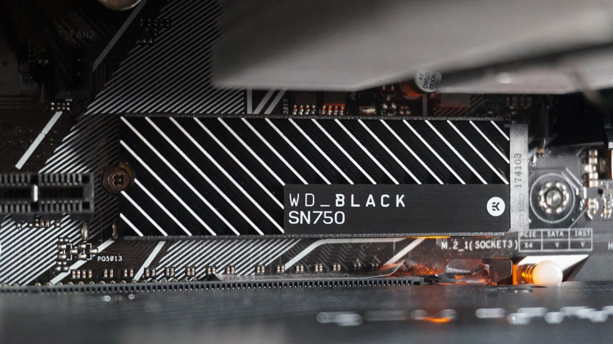WD Black SN750 Heatsink review: Do you need a heatsink on your next gaming SSD?