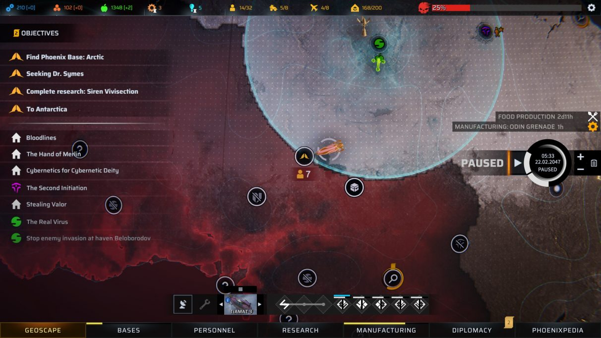 Phoenix Point - Base Management