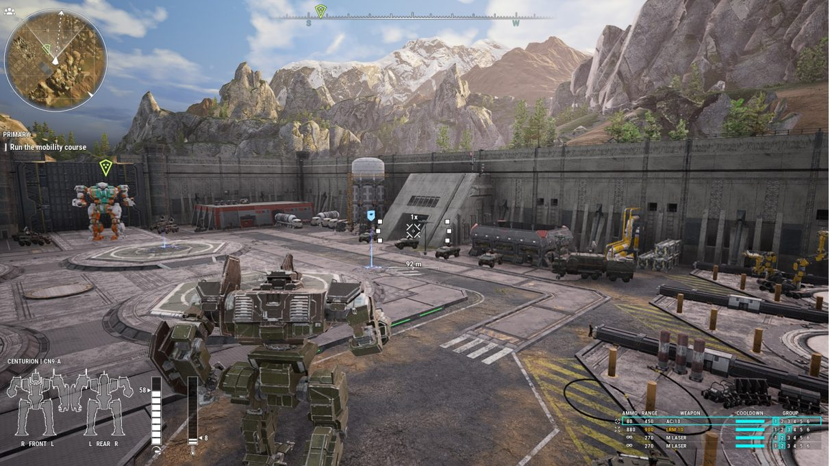 Mechwarrior 5 Movement