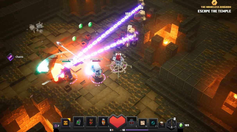 Minecraft Dungeons multiplayer
