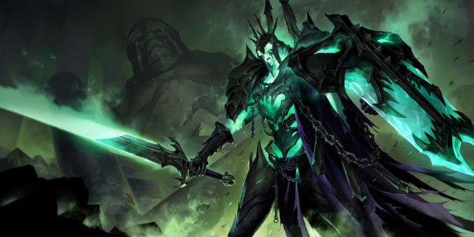 Legends of Runeterra Commander Ledros