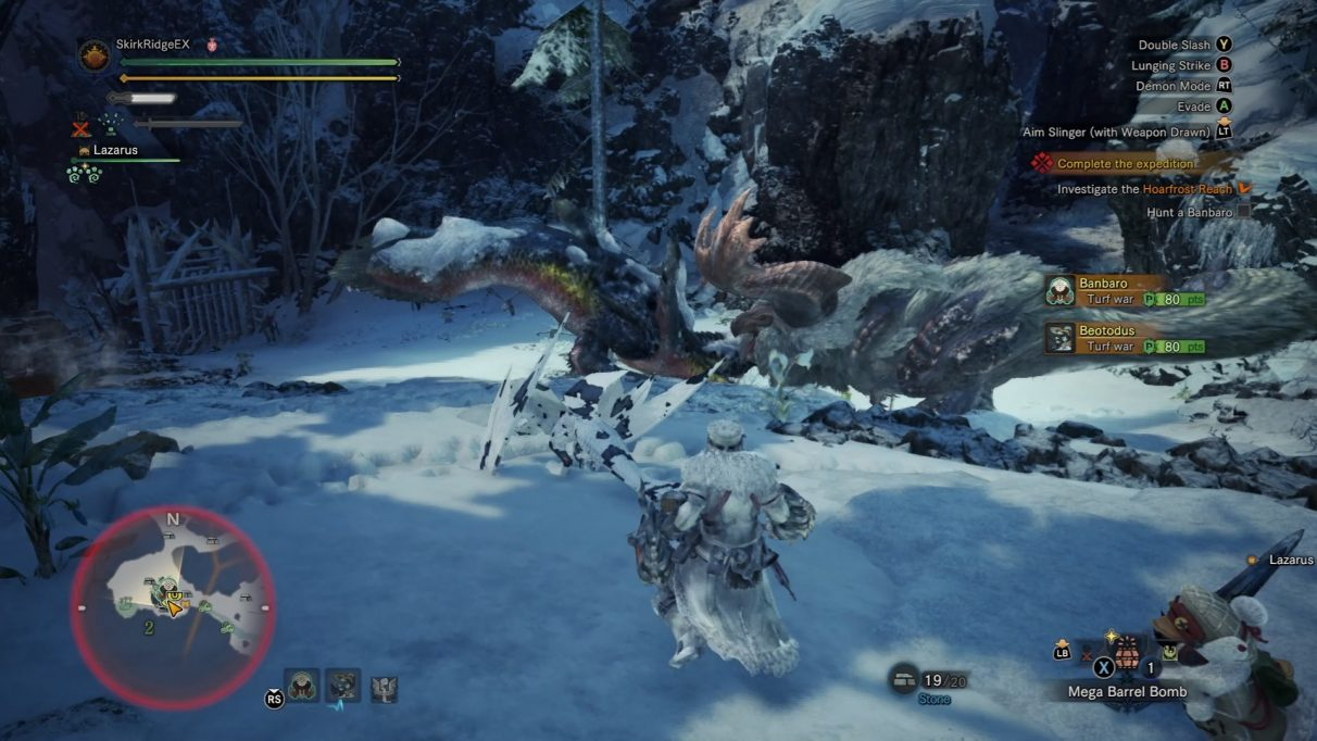 Monster Hunter World Iceborne Banbaro
