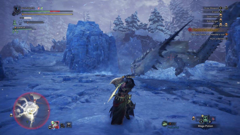 Monster Hunter World Iceborne Barioth