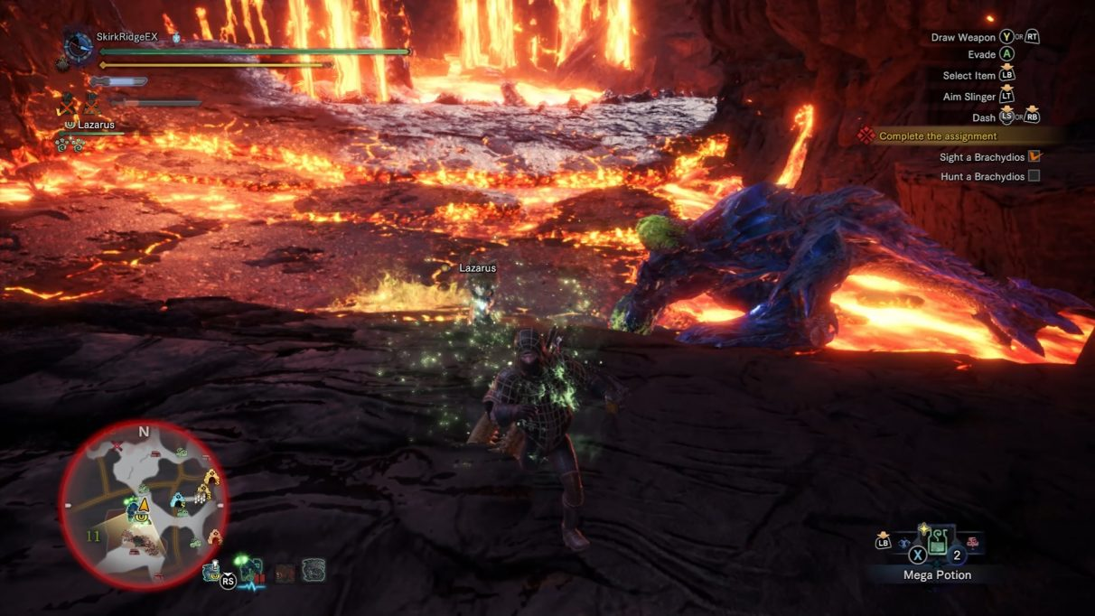 Monster Hunter World Iceborne Brachydios