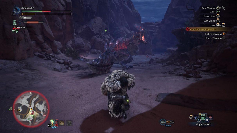 Monster Hunter World Iceborne Glavenus