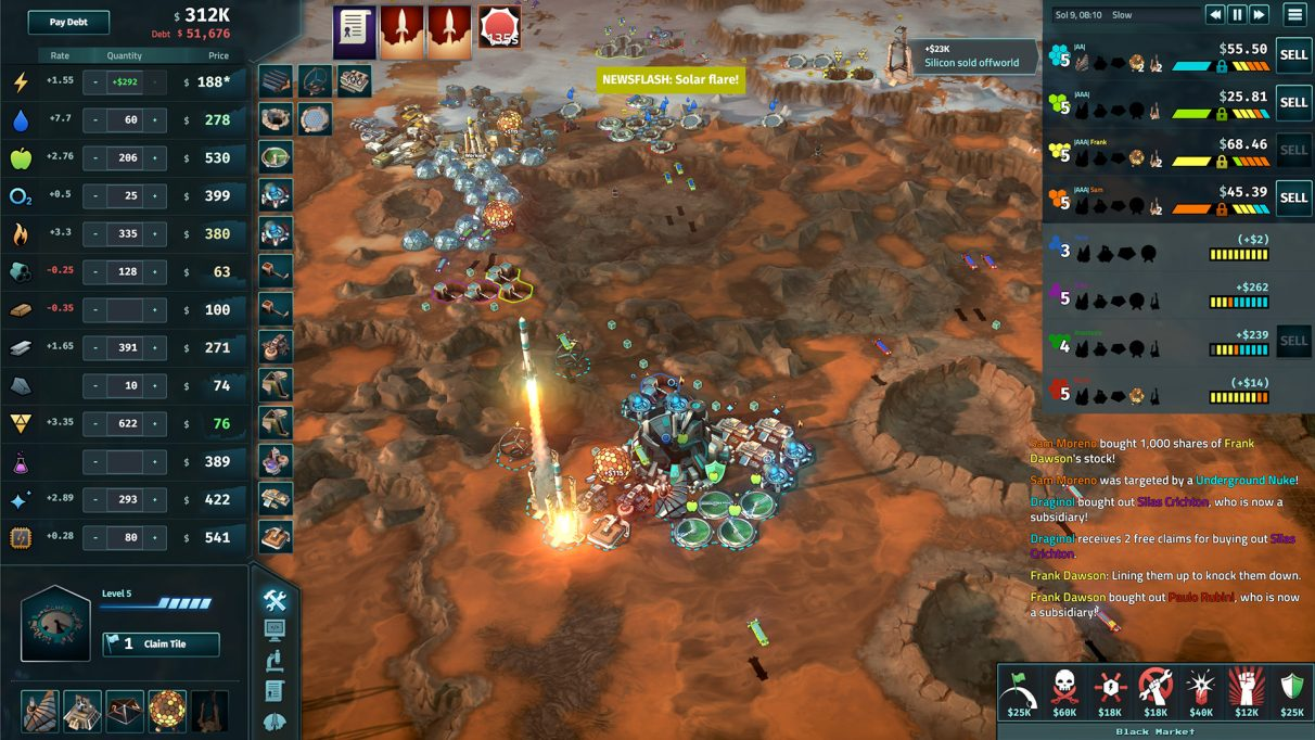 Offworld Trading Company - Best Strategy Games 2020