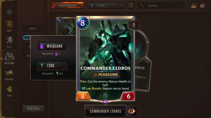 Runeterra Commander Ledros