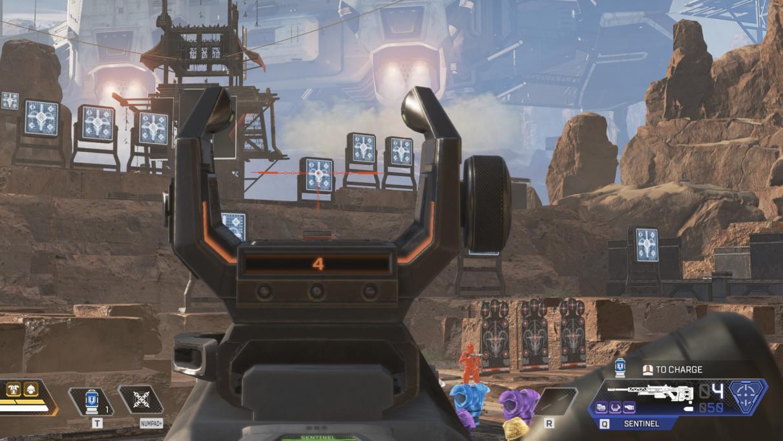 Apex Legends Sentinel Sniper Rifle