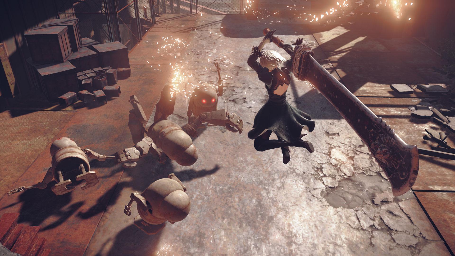 Nier Automata - Best Action Games 2020
