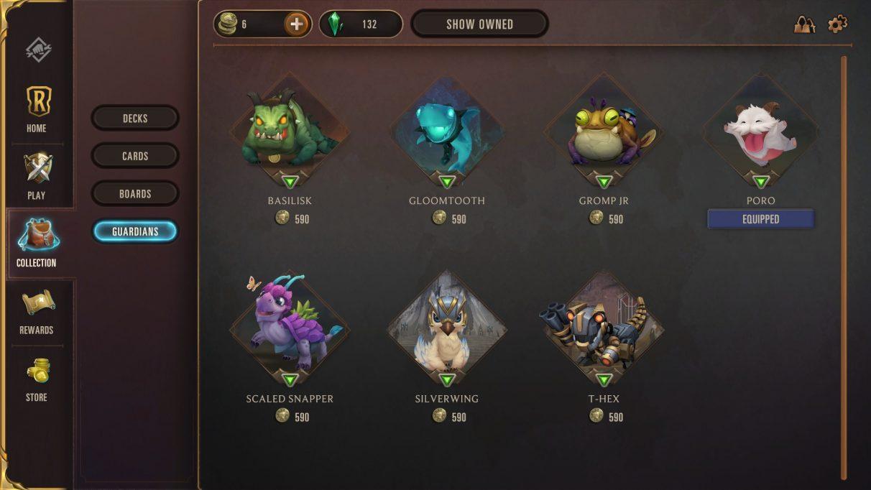 Runeterra equip guardian
