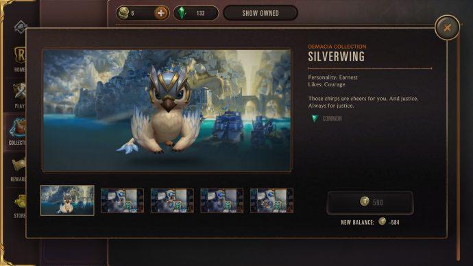 Runeterra silverwing guardian