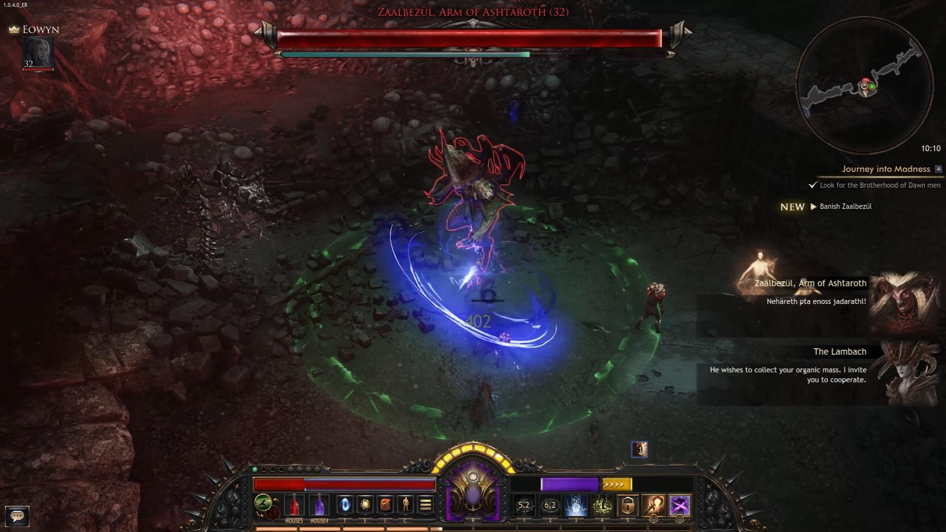 Wolcen skill infinity blades