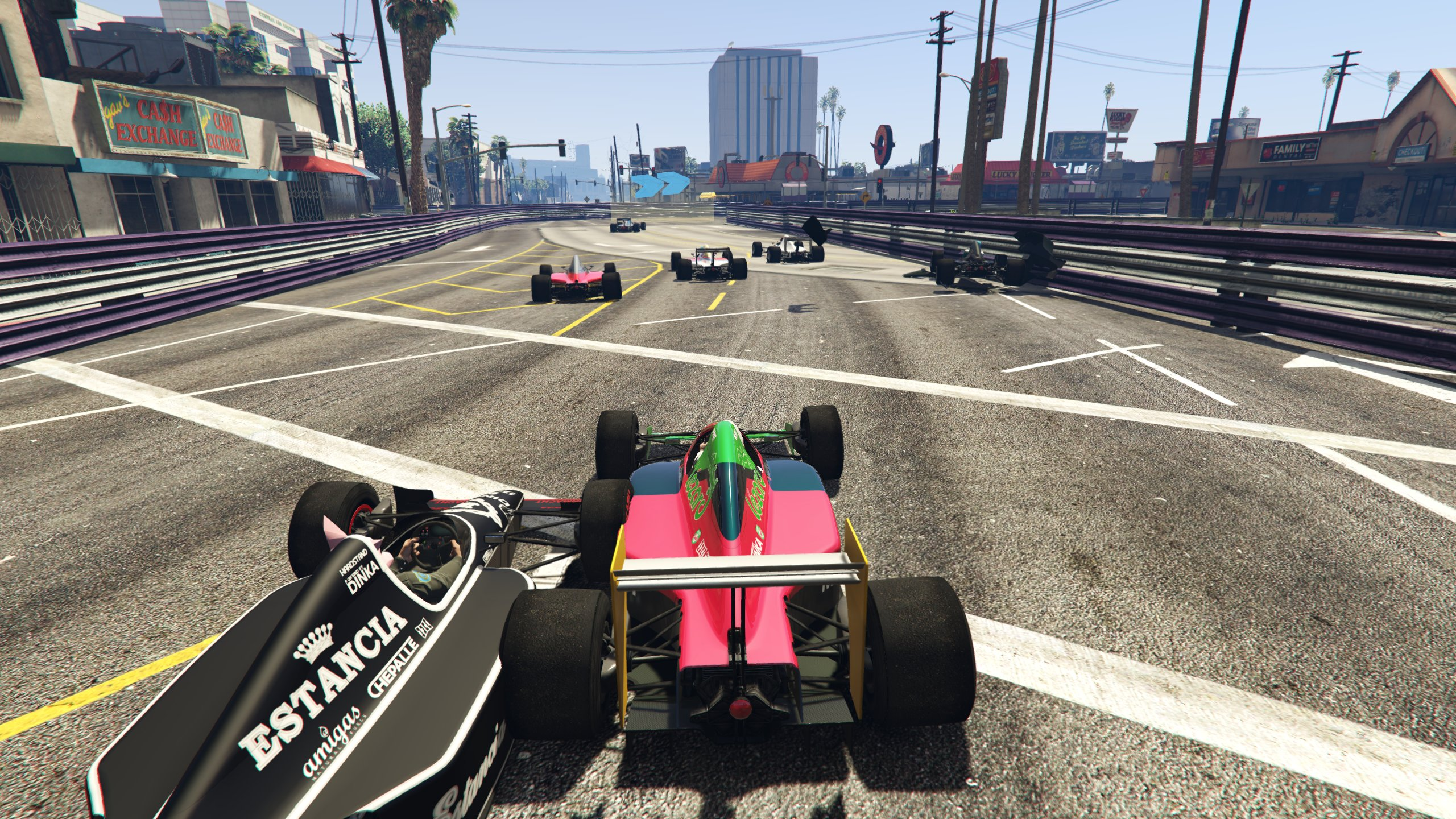 Gta Online Has Added Formula One Races And It S A Bloodbath Rock Paper Shotgun