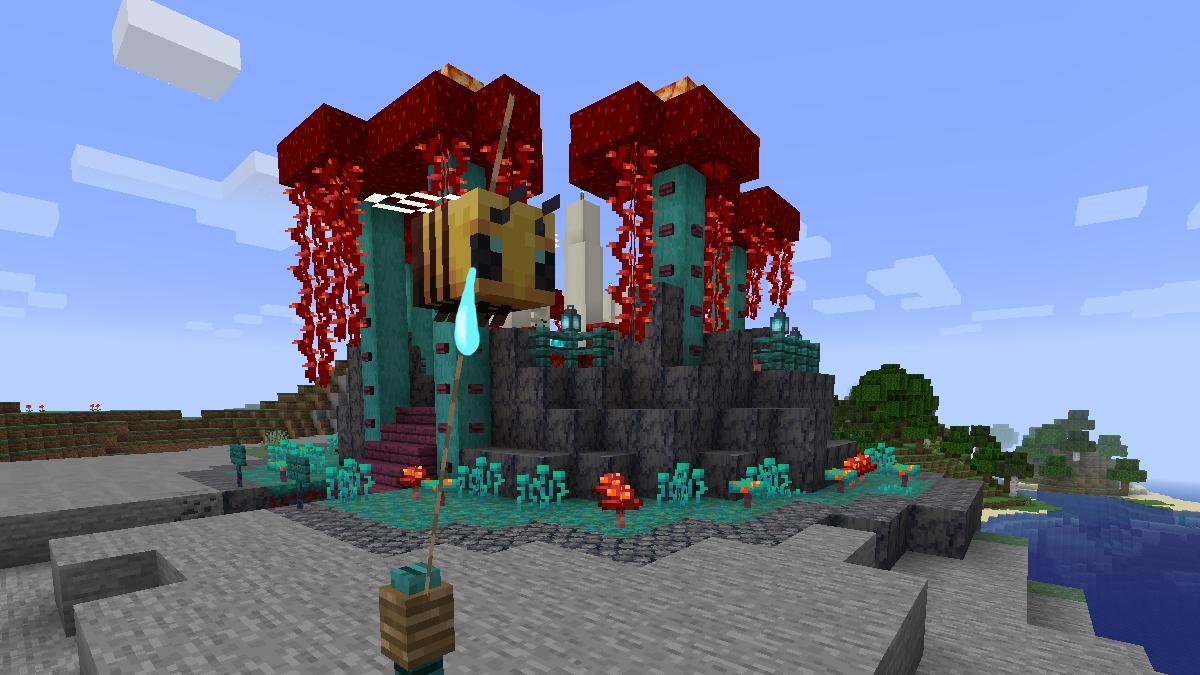 Making A Horror Shrine With Minecraft 1 16 Rock Paper Shotgun