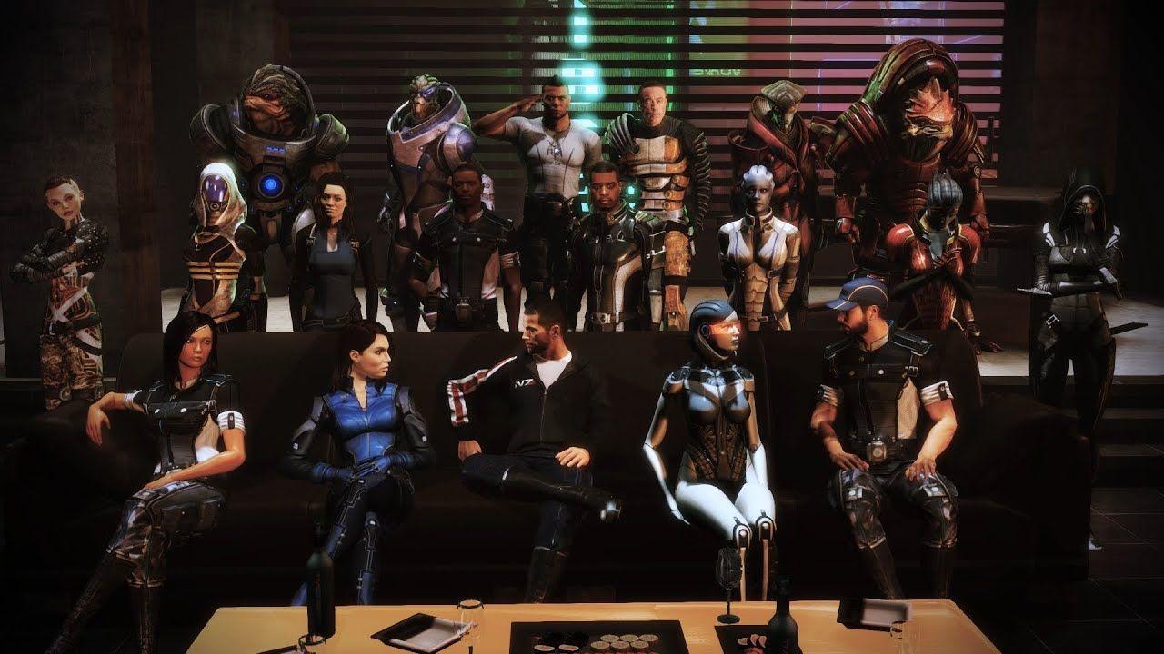 The original Mass Effect trilogy