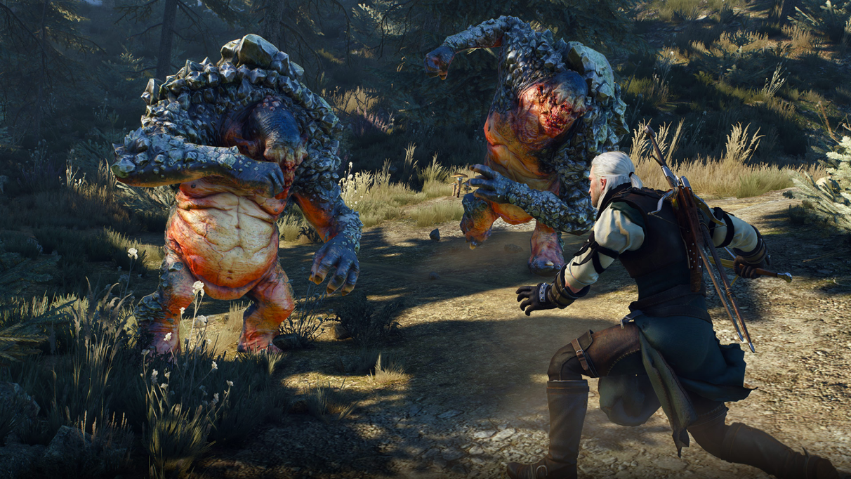 The Witcher 3 combat tips: dodge, roll, and parry