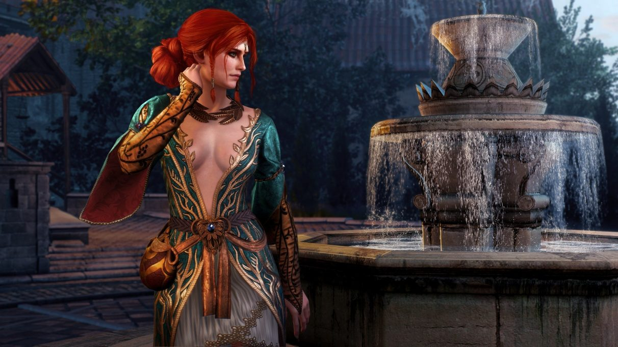 The Witcher 3 Triss romance
