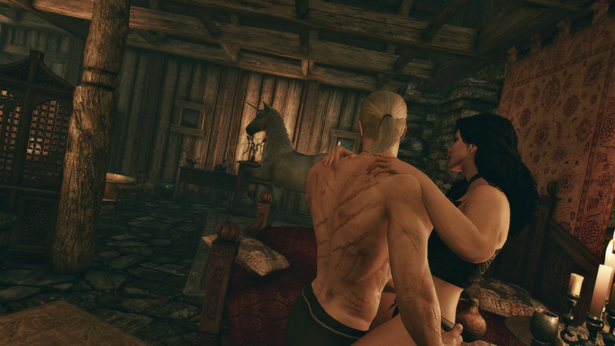 The Witcher 3 Yennefer romance
