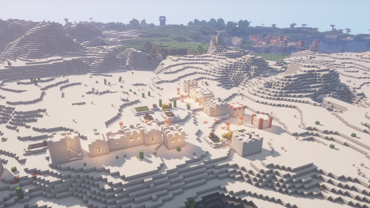 Where to find Minecraft villages
