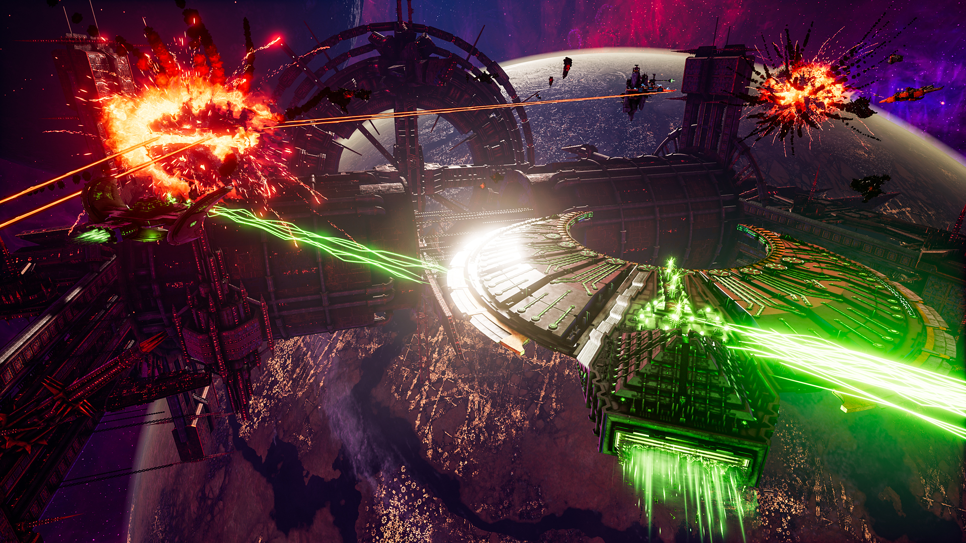 Battlefleet Gothic Armada 2 - Best space games 2020