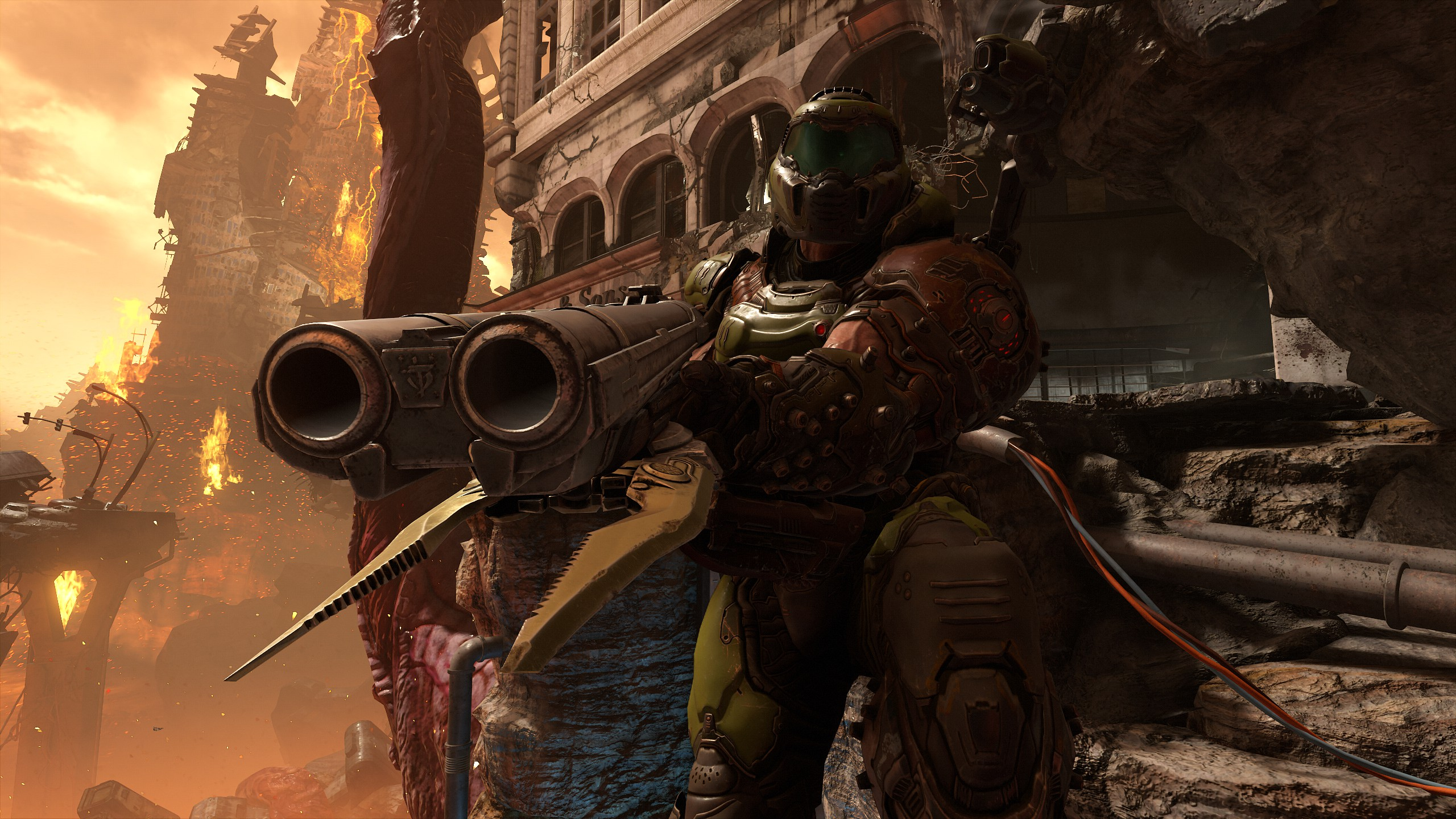 Doom Eternal Pc Performance How To Get The Best Settings Rock
