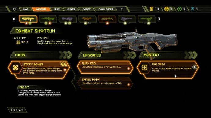 Doom Eternal weapon mod