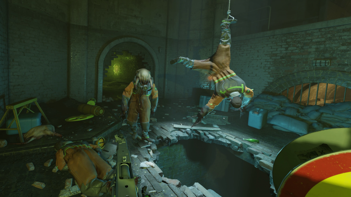 A screenshot of two zombies in Half-Life: Alyx.