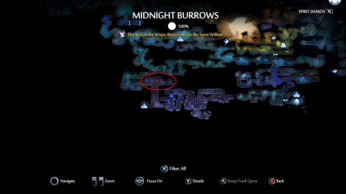 Ori And The Will Of The Wisps Midnight Burrows