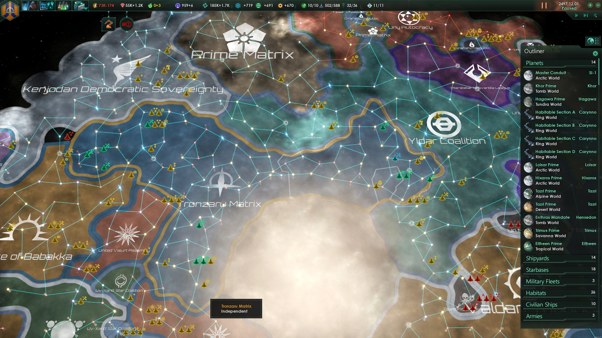 Stellaris - Best space games 2020