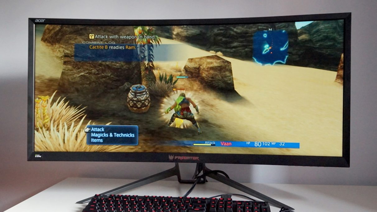 Acer Predator Z35p - Best gaming monitor 2020
