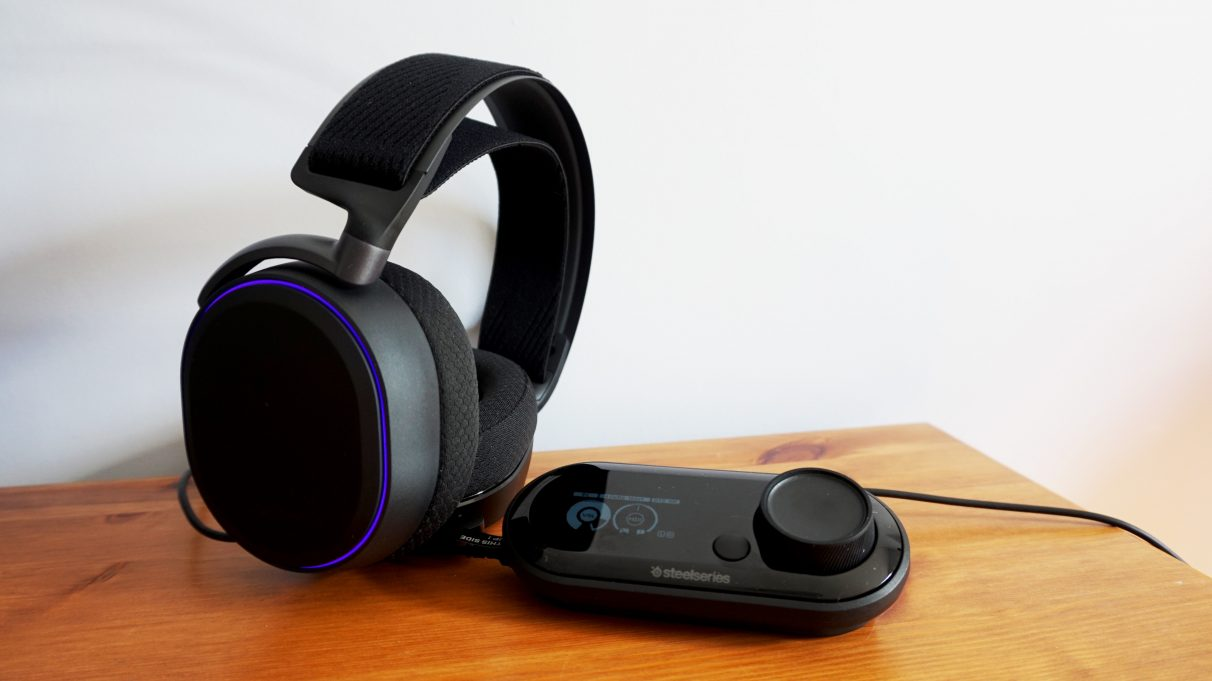 A photo of the Steelseries Arctis Pro + GameDac