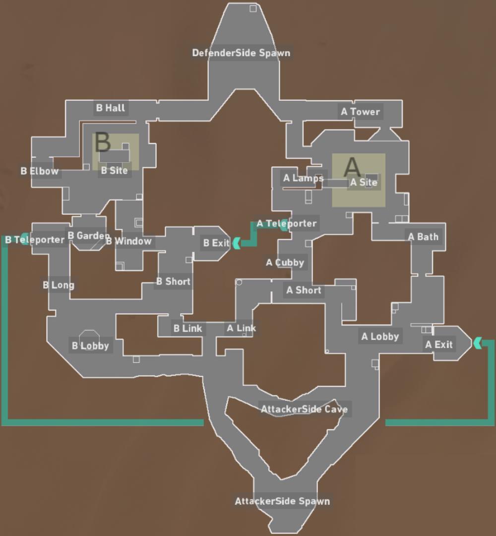 Valorant Bind map callouts