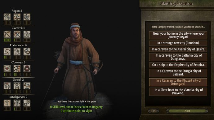 This mod allows you to skip the beginning part of Bannerlord.