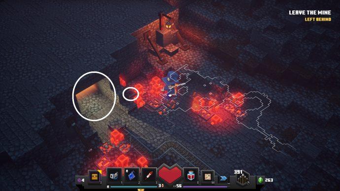 Minecraft Dungeons secret cow level