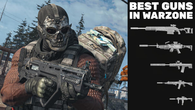 Best guns in Warzone