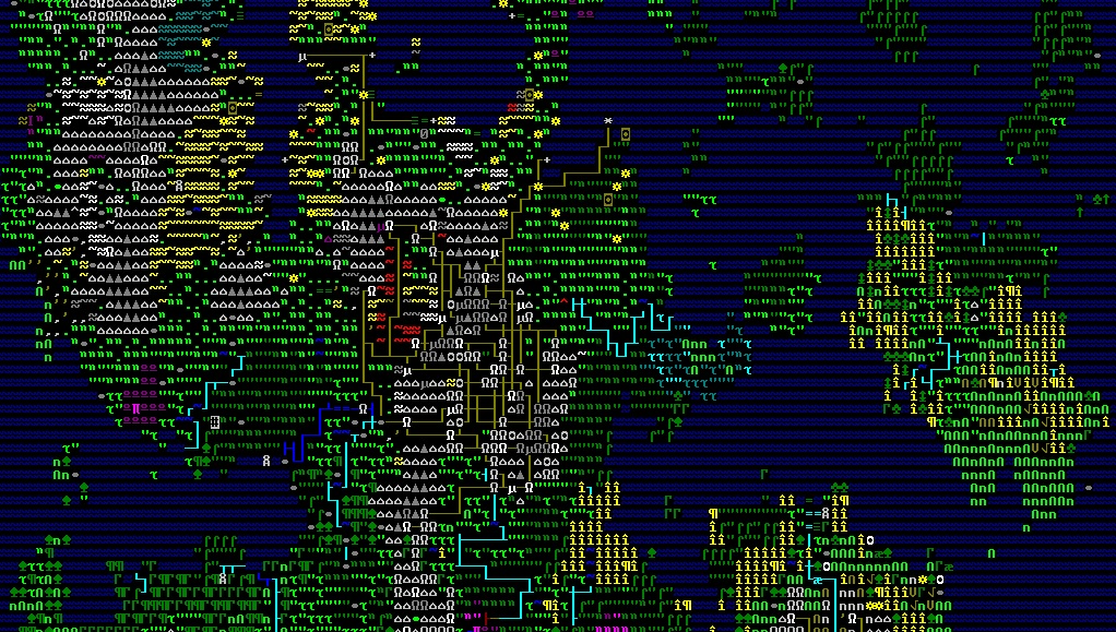 Dwarf Fortress S Graphical Maps Are Looking Tidy Rock Paper Shotgun