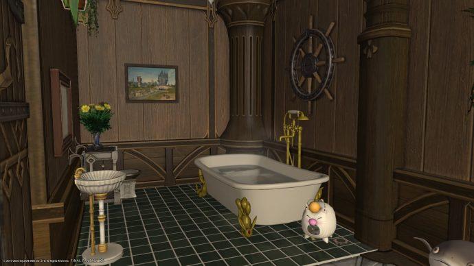 FFXIV - finished bathroom